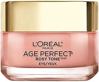 Eye Brightener Eye Cream by L'Oreal Paris Skin Care, Age Perfect Rosy Tone Eye Brightener to Visibly Color Correct Dark Circles, Fragrance Free, Paraben Free, 0.5oz.