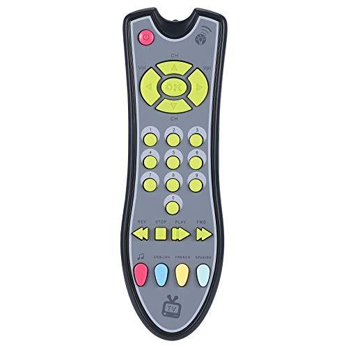 Weilifang Juguetes Bebe Control Remoto Juguetes educativos para la Primera Kids Controlador eléctrico máquina de Aprendizaje del Juguete de Regalo del bebé Juguetes Música TV