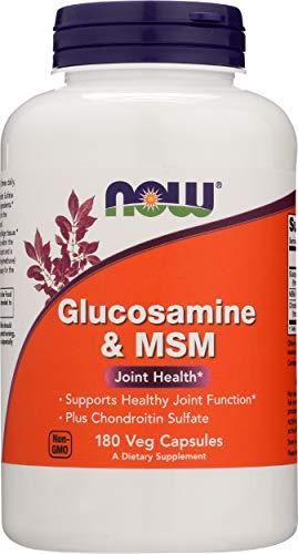 Now Foods Glucosamine & MSM Standard, 180 Kapseln