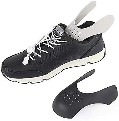 mmfoot Protectores De Zapatillas Protectores De Zapatos Previenen Las Arrugas Frontales Contra Las Arrugas De Los Zapatos Mejoran Los Pliegues 1 Par