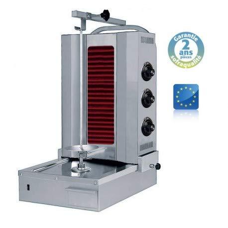 Shoarma Kebab vitro électrique - 60 kg - Sofraca -