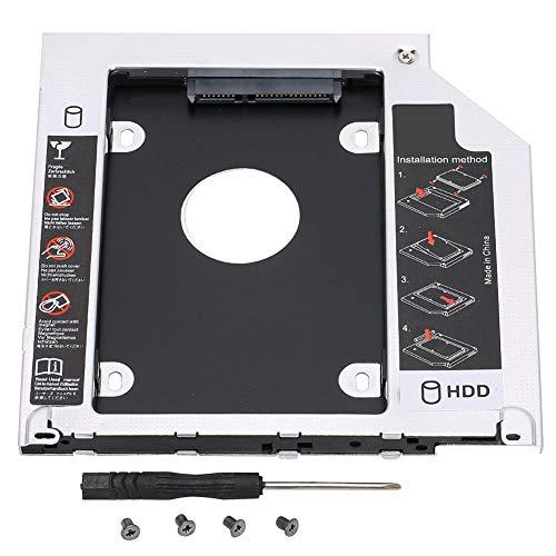 GAESHOW für MackBook Pro Laptop Optisches Laufwerk Bit Festplattenhalterung Notebook SSD Halter SATA 3.0 ABS