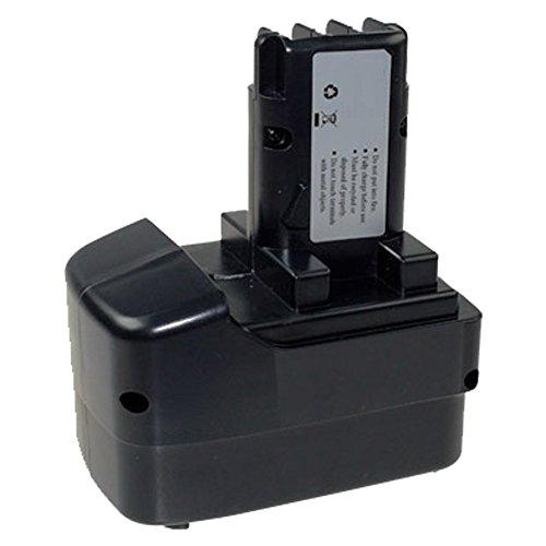 Kraftmax Batterie pour Metabo 6.31729 ME-1214N, BS 12, BST12, BS12, BST, SB12, SB 12