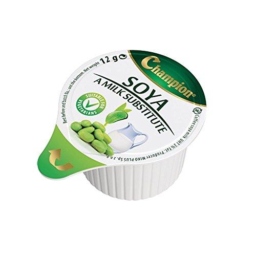 Portions individuelles de substitut de lait de soja 80 gousses