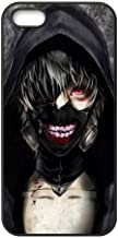 Cubierta de Custom Fashion M-01Anime Tokyo Ghouls impresión en negro con carcasa rígida para iphone 5/5S