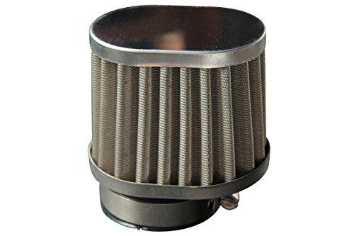【209】 パワーフィルターステンメッシュ 口径50mm オーバル ロング CAB-PF01-STAIN CAB-PF01-STAIN