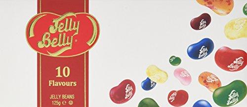 Jelly Belly Beans 10 Sorten Geschenkpackung, 4er Pack (4x 125 g)