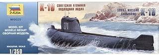 K-19 Soviet nuclear-power submarine 1/350 Zvezda 9025