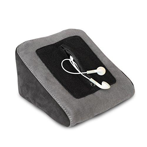 Tablet Kissen - ideal passend zu Samsung Tab, Apple iPad, Lenovo, Huawei Mediapad - Tablet Halterung, eReader Halter für Bett & Couch