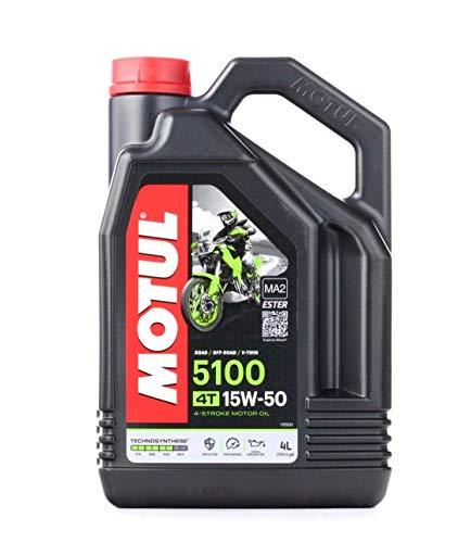 Motul 104083 5100 4T, 15 W-50, 4 L