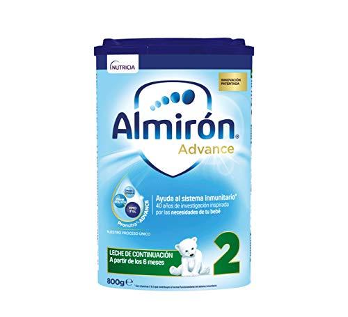 Almirón Advance 2, Leche de Continuación en Polvo para Bebé, a partir de 6 Meses, 800g