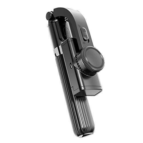 ERUYN Supporto per Telefono Cellulare stabilizzatore cardanico palmare Compatibile con Bluetooth Nero