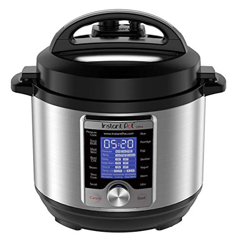 Instant Pot Ultra 3 Qt 10-in-1 Multi- Use Programmable Pressure Cooker, Slow Cooker, Rice Cooker, Yogurt Maker, Egg Cooker, Sauté, Steamer, Warmer, and Sterilizer, Silver