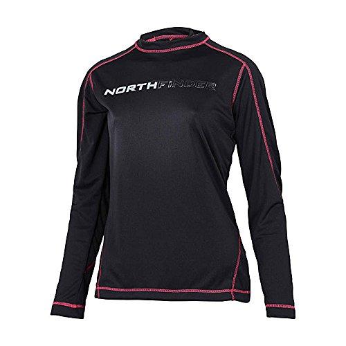 Northfinder Mollau Shirt funzionale donne - black