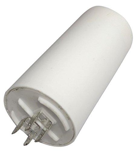 AERZETIX: Condensatore permanente di lavoro per motore 60µF 450V con capicorda 6.3mm C18653