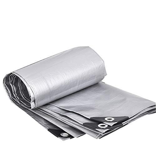 HCYTPL afdekzeil PE-zeil waterdicht Heavy Duty - PE tarp-blad afdekking voor overkapping tent, boot, camper of zwembad, 180 g/m2