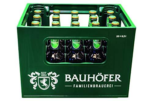 20 x Bauhöfer (Ulmer) Pilsener 0,5 Liter 5,2% vol. Originalkiste MEHRWEG
