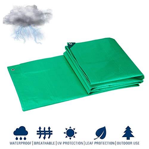 HLYT-0909 Garden Mate Plastic Tarpa PE Lona Impermeable Hoja de Lona Impermeable Transparente Tienda de Resistencia al desgarro para Acampar al Aire Libre para Todo Uso