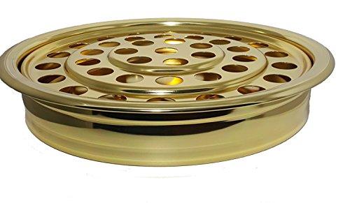Brasstone Comunión Taza, de aluminio