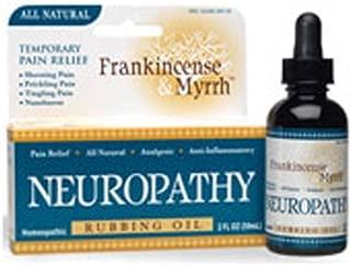 Frankincense & Myrrh Neuropathy Rubbing Oil 2 oz. (Pack of 2)