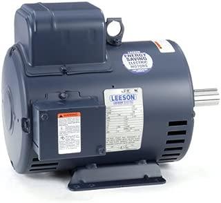 Leeson Electric 131622.00 - Air Compressor - 1 ph, 5 hp, 1800 rpm, 208-230 V, 184T Frame, Drip Proof Enclosure, 60 Hz