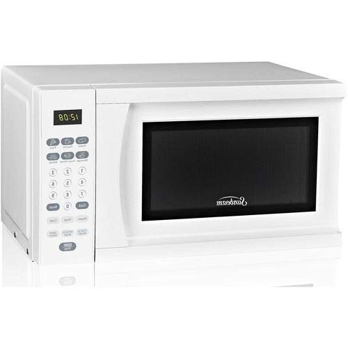 OKSLO 0.7 cu ft microwave oven, white