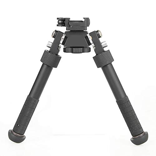 CANIS LATRANS Tactical Bipod Height 4.75'- 9' Adjustable 360 Degree...