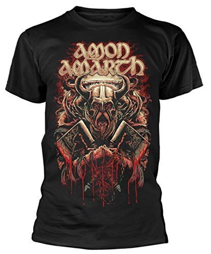 Amon Amarth 'Fight' (Black) T-Shirt (small)