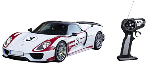 Mondo Motors - 63324.0 - Porsche 918 Racing Radiocommandé + Batterie - Echelle 1/16