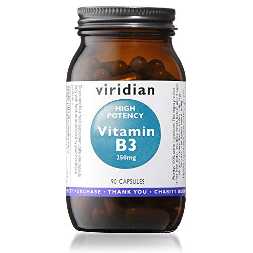 Viridian High Potency Vitamin B3 Capsules 90