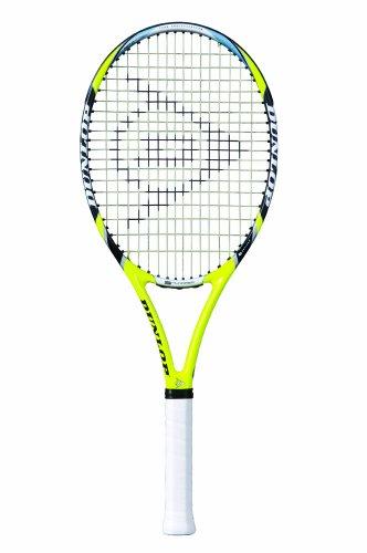 Dunlop Tennisschläger Aerogel 4D 500 Griffstärke 3, gelb, Silber