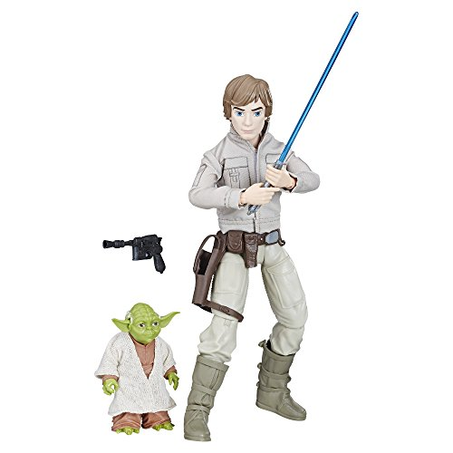 Star Wars Hasbro – C1627 Forces of Destiny – Luke Skywalker & Yoda – Spielfiguren Set