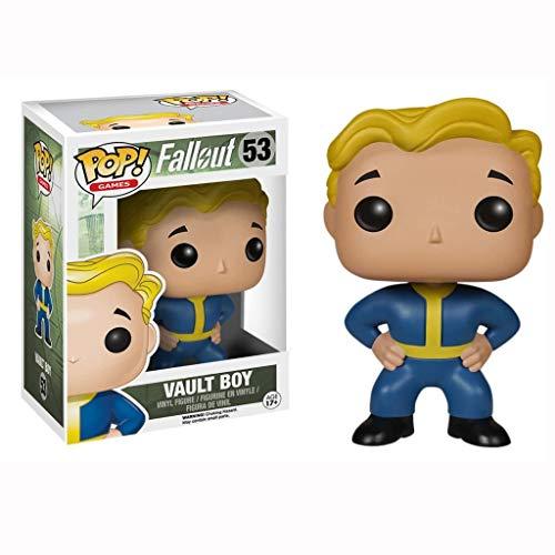 YYBB Figura Pop!Fallout 4: Bóveda Boy Vinilo Figura colección Figuras Populares Estatua del Busto Decoraciones de Regalo niños 3,9 Pulgadas Figurines
