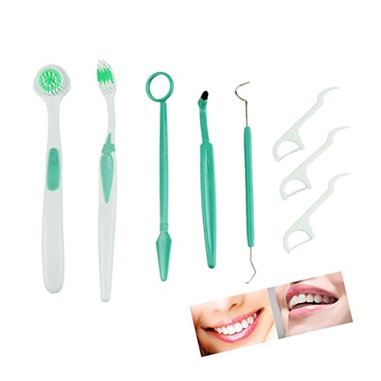 正確さ投資バングラデシュJicorzo - オーラルケア歯磨剤スケーリングスーツアメニティ舌クリーナーのために1セット