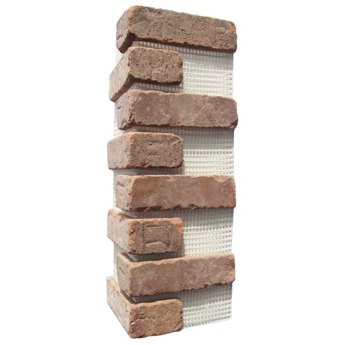 Brickwebb Thin Brick Sheets - Corners (Box of 3 Sheets) - Castle Gate