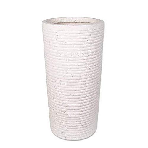 DNSJB Ombrello Stand-Ceramica Portaombrelli Home Hotel Umbrella Secchio (Color : Roughgrain White Color)