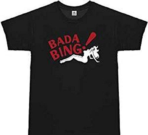 The Sopranos T-shirt Bada Bing ! Taille S