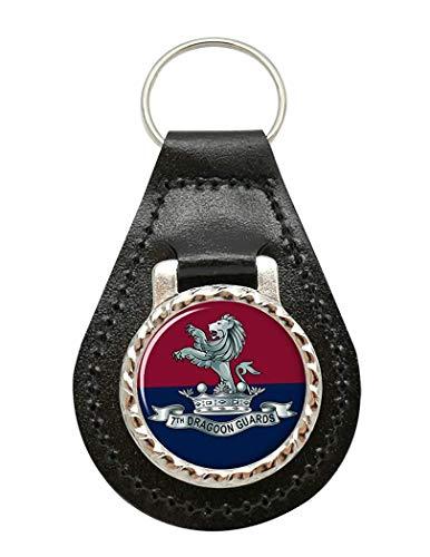 7th Dragoner Guards, Britische Armee Leder Schlüsselanhänger