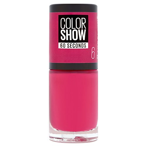 Maybelline New York Colorshow - Vernis à ongles -6 Bubblicious - Rose fuschia