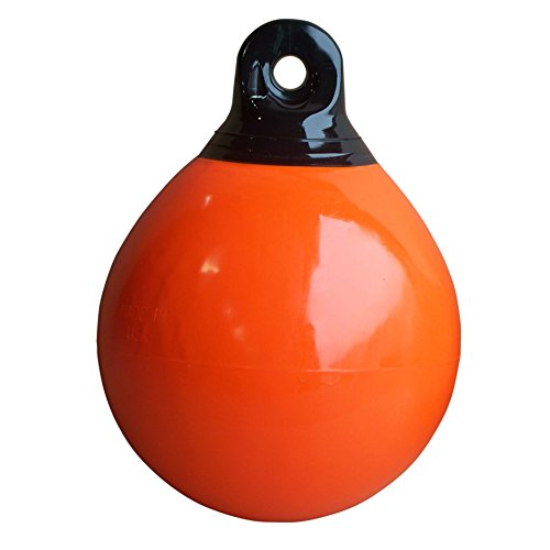 Dock Edge + Commercial Buoy, Orange, 15-Inch