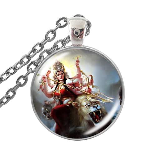 Collar de Dios Hindú Shiva Meditación de Buda Joyería Espiritual Despertar Tu Poder Interior Collares Colgante Para Mujer Hombre