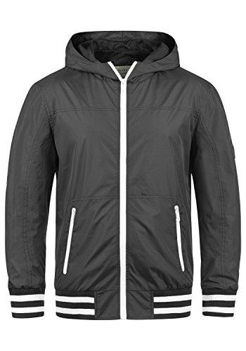 Blend Novan Herren Übergangsjacke Herrenjacke Jacke mit Kapuze, Größe:XL, Farbe:Phantom Grey (70010)
