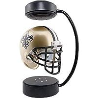 U/D 3D Magnetic Levitation Constellation Globe Saturn Levitating Led Basketball Soccer NFL Helmet 360° Rotation Football Hover Rugby Lamp Sports Fan Gift-New-Orleans_Saints