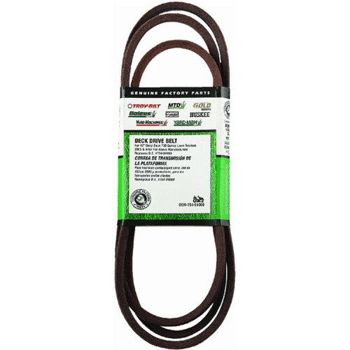 MTD OEM-754-04060 42-Inch Deck Drive Belt for Tractors 2005 and After