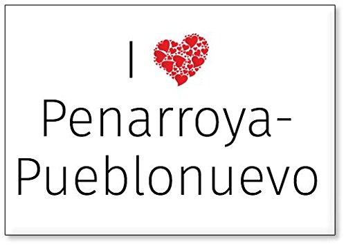 Mundus Souvenirs - Amo Penarroya-Pueblonuevo, Imán para Nevera (diseño 2)