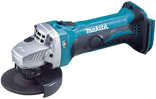 マキタ ディスクグラインダ18V 100㎜ スライドスイッチ型 バッテリ充電器別売 GA402DZ