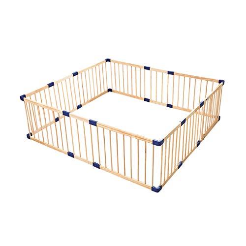 LIUFS-Clôture Ramper Marche Clôture Monobloc Clôture de jeu pour enfants Sécurité intérieure Terrain de jeu en bois massif (taille : 2.16m*m)