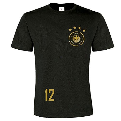 myfashionist Herren T-Shirt Fußball Trikot WM/EM Deutschland Trikot in Verschiedene Grössen (L)