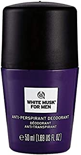 The Body Shop White Musk Anti Perspirant Deodorant for Men, 50 ml