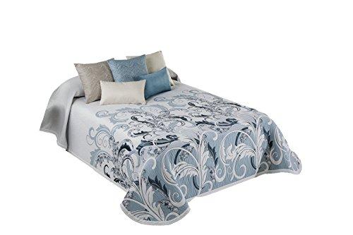 Colcha Piqué Cubrecamas diseño Dylan 235x270 color 3 (cama de 135)